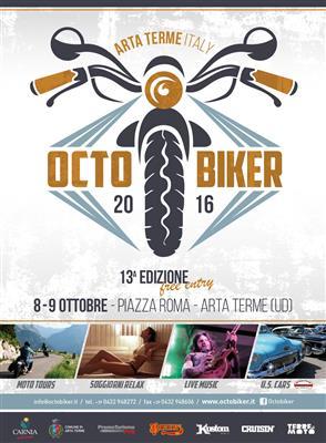 Arta Terme: la 13 edizione del Octo-Biker